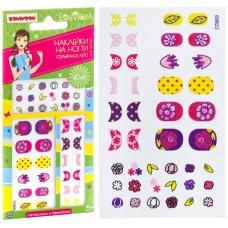 Наборы для творчества от BONDIBON и EVA MODA, наклейки на ногти Солнечное лето-3, арт 69823