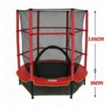Батут с сейткой безопасности, 55 дюймов (140см)