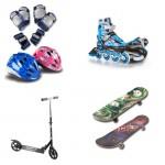 Скейтборды и ролики