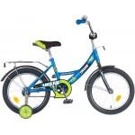 "Велосипед NOVATRACK 20"", URBAN, синий, тормоз нож., цветн.крылья, багажник хром.107120,203URBAN.BL6"