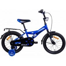 Велосипед двухколесный для детей Aist STITCH 16 синий 2019