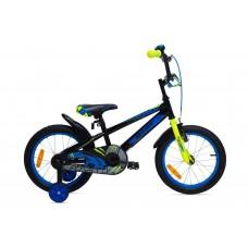 """Велосипед для детей Aist Pluto 16"""" черный"""