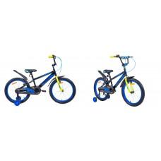 Велосипед двухколесный для детей Aist PLUTO 20 черный 2020