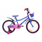 Велосипед двухколесный для детей Aist WIKI 20 фиолетовый 2020