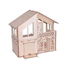 Дачный домик с гаражом Конструктор