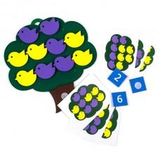 Дерево с птичками Развивающая игра
