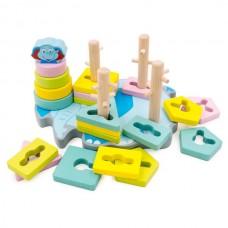 Слоник Развивающая игрушка-сортировщик
