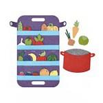 Сумка-игралка Овощи, фрукты и ягоды