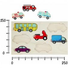 Городской транспорт (вкладыши)