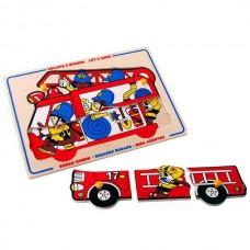Пожарные (с подложкой)
