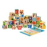 Занимательные буквы кубики (42 дет.)