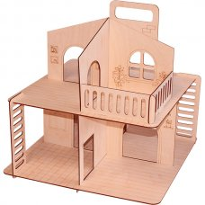 Дачный домик с крышей Конструктор