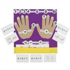 Пальчики Коврик-считалка