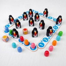 """Настольная игра """"Пингвины и яйца"""""""