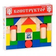 Конструктор Цветной (43 дет.)