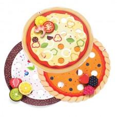 Юный кондитер, Пицца-пирог-торт-1 (117301)