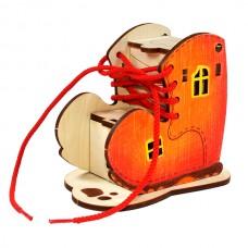 Башмачок Игрушка деревянная с товарным знаком ВУДИ