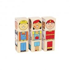 Профессии кубики