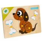 Собачка Игрушка деревянная с товарным знаком ВУДИ