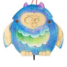 Сова Фаня Игрушка деревянная с товарным знвком ВУДИ