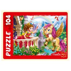 ПАЗЛЫ 104 элемента. Принцесса и пони, арт. П104-1529