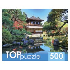 TOPpuzzle. ПАЗЛЫ 500 элементов. КБТП500-6808 Красивая пагода