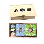 Досочки Сегена, Логическая игра, Игрушка деревянная развивающая. арт DG-А006-ANT