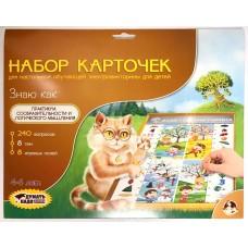 "Набор карточек к Электровикторинам: ""Знаю как"", арт. 03780"