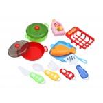 Игровой набор посуды. Кухонная утварь (10 предметов)., арт. 1761512