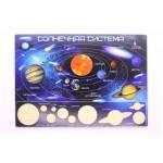 Вкладыш Космос, Игрушка деревянная развивающая. арт. DG-В024-ANT