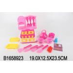 Игровой набор посуды. Посудка с плитой (17 предметов)., арт. RC-1658923