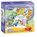 "Игра ""Медвежонок Винни"". Мемо-Puzzle (Disney), арт. SP-76202"
