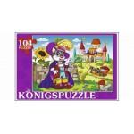 Konigspuzzle. ПАЗЛЫ 104 элемента. КОТ В САПОГАХ-1 (Арт. ПК104-5807)