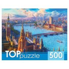 TOPpuzzle. ПАЗЛЫ 500 элементов. ХТП500-4222 ЛОНДОНСКИЙ ПЕЙЗАЖ