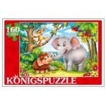 Konigspuzzle. ПАЗЛЫ 160 элементов. СКАЗКА № 71 (Арт. ПК160-6122)