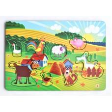 "IG0010 Рамка-вкладка ""Веселая ферма"""