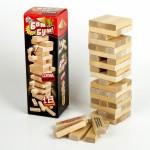 """Игра для детей и взрослых """"Бам-бум"""" (падающая башня), арт. 01741"""