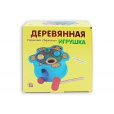 """Деревянная игрушка. Стучалка. СТУЧАЛКА """"ЧЕРЕПАХА"""", арт. ИД-9246"""