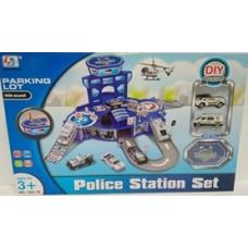 Парковка-полицейский участок.