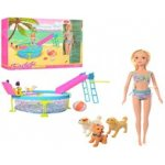 Кукла Кайлили с бассейном.