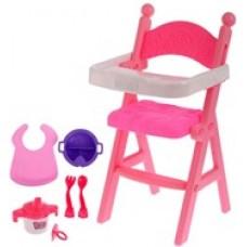 Кукольный стульчик для кормления.