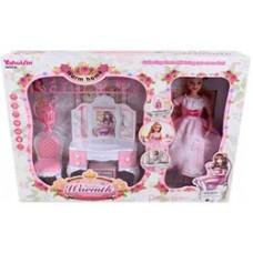 Кукла с мебелью.