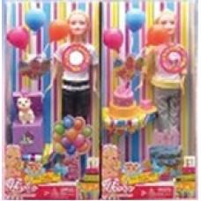 Кукла с шариками.