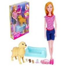 Кукла с собачкой.