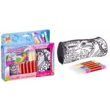 Набор для раскрашивания с 3D красками BONDIBON, сумочка Тукан