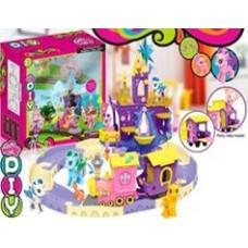 """Игровой набор """" Замок для пони"""", с поездом дружбы."""