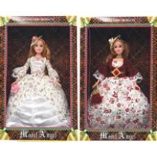 Кукла в бальном платье.