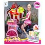 Кукла Кайлили-продавец мороженного на велосипеде.