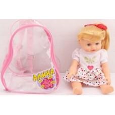 """Кукла""""Алина"""" в рюкзачке."""
