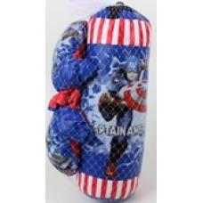 "Набор для бокса ""Капитан Америка""."